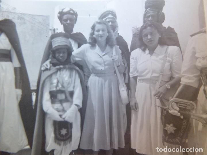 FOTOGRAFÍA SOLDADOS GUARDIA JALIFIANA. TETUÁN (Militar - Fotografía Militar - Otros)