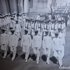 Militaria: FOTOGRAFÍA OFICIALES Y MARINEROS. ESCUELA NAVAL DE SAN FERNANDO LEGIÓN CONDOR. Lote 129475203