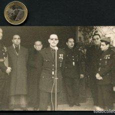 Militaria: GUERRA CIVIL POST, FOTOGRAFÍA, MILITARES Y MIEMBROS DE FALANGE ESPAÑOLA. Lote 129669375