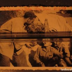 Militaria: TTES DOMINGUEZ , ALVAREZ Y ALFERZ ROMERO BATALLA DEL EBRO 29 IX 1938 GUERRA CIVIL. Lote 130065587