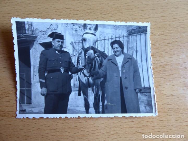 Militaria: Fotografía sargento Guardia Civil. - Foto 2 - 130076071