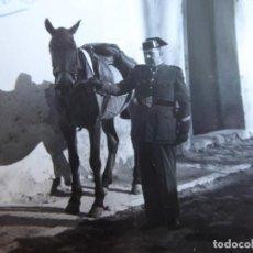 Militaria: FOTOGRAFÍA SARGENTO GUARDIA CIVIL.. Lote 130076951