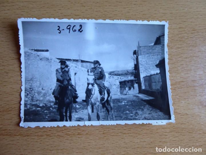 Militaria: Fotografía sargento Guardia Civil. - Foto 2 - 130077055