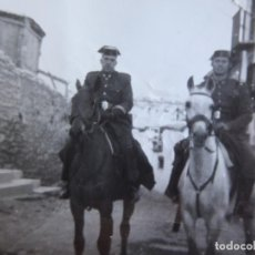 Militaria: FOTOGRAFÍA SARGENTO GUARDIA CIVIL. 1962. Lote 130077083