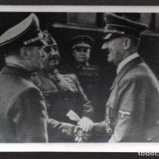 Militaria: FOTOGRAFIA, FRANCO Y HILER, REVERSO Nº 417, MIDE: 11 X 7,50 C.M. VER FOTOS. Lote 130115663