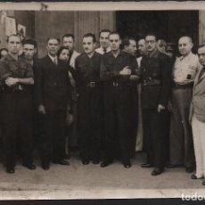 Militaria: FOTO JEFES DE FALAGE. --LA UNION- DIARIOGRAFICO,MIDE: 18 X 12 C.M. VER FOTOS. Lote 130118303