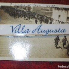 Militaria: DESFILE 2º BON DEL TABOR LEGION EN CUARTEL SIDI IFNI CIRCA 1939 CONCENTRACION ALIADOS Y SULTAN. Lote 130149783