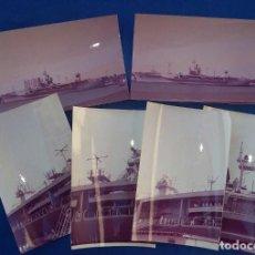 Militaria: 17 FOTOGRAFIAS DEL BUQUE USS MOUNT WHITNEY LCC20 . Lote 130212955