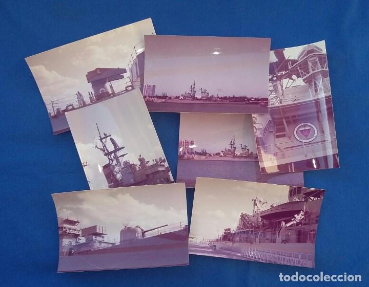 13 FOTOGRAFIAS DEL CRUCERO USS DEWEY DGG45 (Militar - Fotografía Militar - Otros)