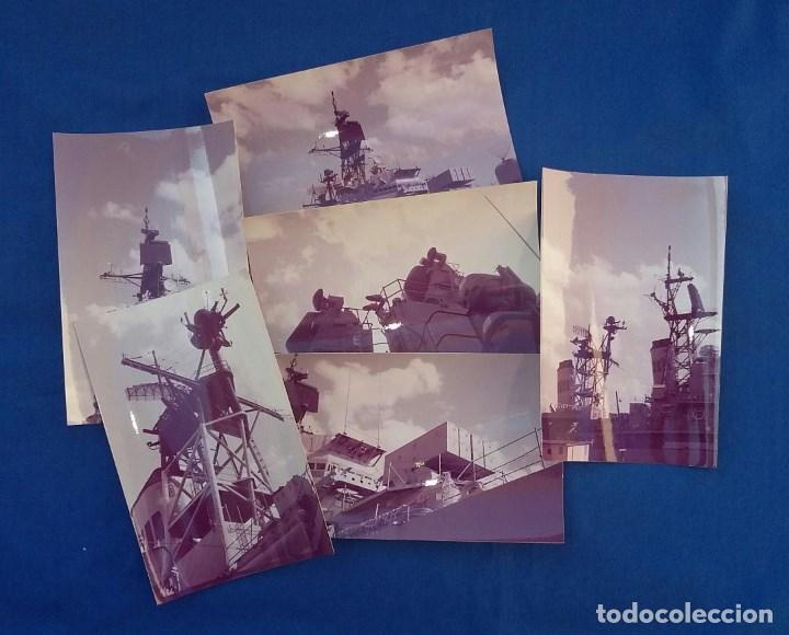 Militaria: 13 FOTOGRAFIAS DEL CRUCERO USS DEWEY DGG45 - Foto 2 - 130213047