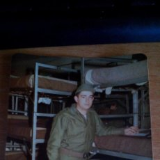 Militaria: FOTOGRAFIA MILITAR - SOLDADO DE REEMPLAZO - AÑOS 80. Lote 130391582