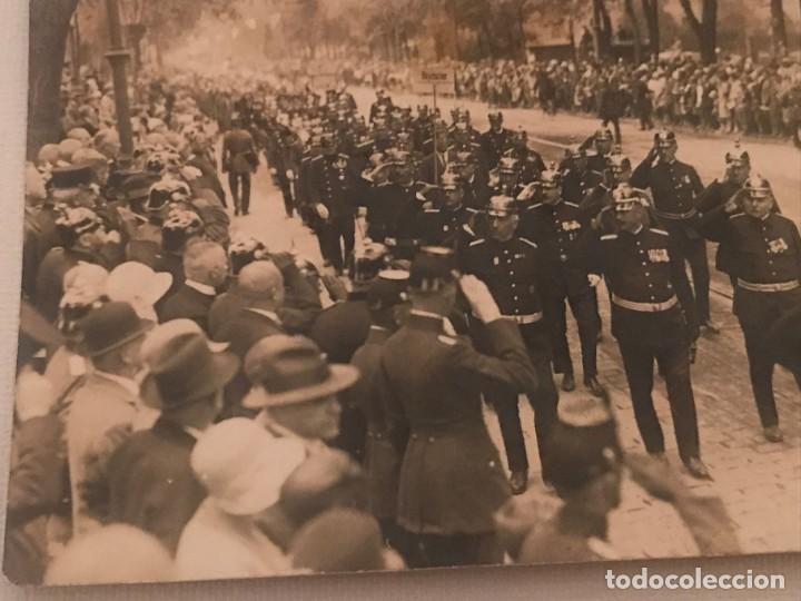 Militaria: Fotografía postal desfile militar en Alemania, Post primera guerra mundial? Gustav Leuter - Foto 3 - 130428226