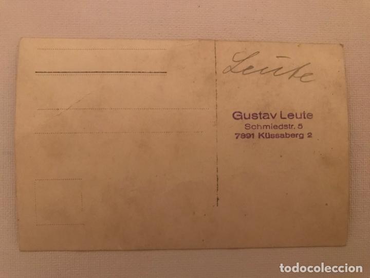 Militaria: Fotografía postal desfile militar en Alemania, Post primera guerra mundial? Gustav Leuter - Foto 4 - 130428226