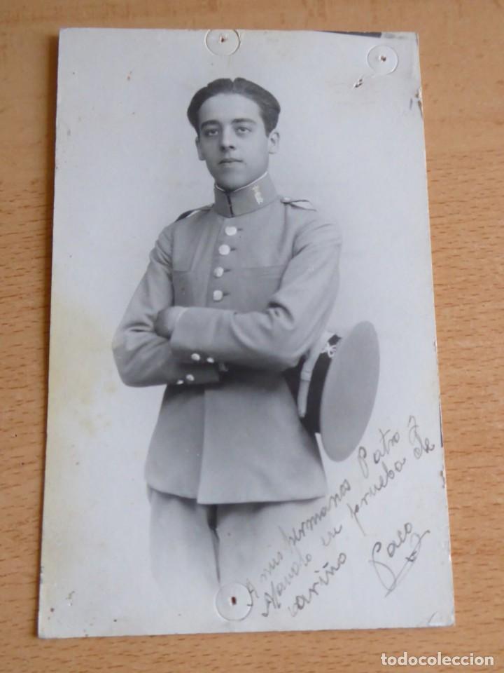 Militaria: Fotografía cadete Academia de Caballería. Valladolid - Foto 2 - 130570030