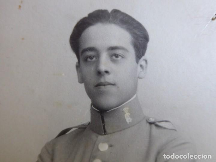 Militaria: Fotografía cadete Academia de Caballería. Valladolid - Foto 3 - 130570030