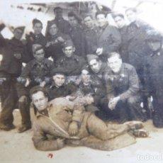 Militaria: FOTOGRAFÍA SOLDADOS INGENIEROS AVIACIÓN. ALFONSO XIII. Lote 130576530