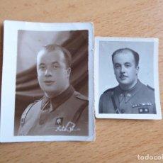 Militaria: FOTOGRAFÍA ALFÉREZ PROVISIONAL DEL EJÉRCITO NACIONAL. 1938. Lote 130577186