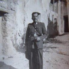 Militaria: FOTOGRAFÍA CABO PRIMERO GUARDIA CIVIL. BUENDIA 1950. Lote 130584502