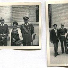 Militaria: LOTE DE 3 FOTOS AVIACIÓN, AVIÓN. Lote 130598314