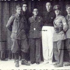 Militaria: FOTO OFICIALES CARRISTAS ITALIANOS CTV MILICIAS MVSN ITALIANAS GUERRA CIVIL. Lote 130729579