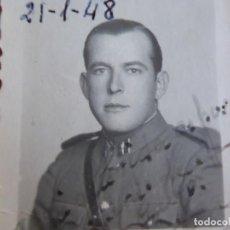 Militaria: FOTOGRAFÍA OFICIAL GUARDIA CIVIL. CUENCA 1948. Lote 130879528