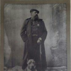Militaria: RETRATO OFICIAL CARLOS VII. 1875,CARLISMO REQUETE, CARLOS DE BORBÓN Y AUSTRIA-ESTE, DUQUE MADRID. Lote 120309527