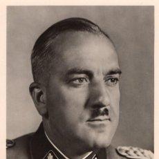 Militaria: TARJETA POSTAL (1939-45) DEL SS GRUPPENFÜHRER KARL MARIA DEMELHUBER. Lote 131198836