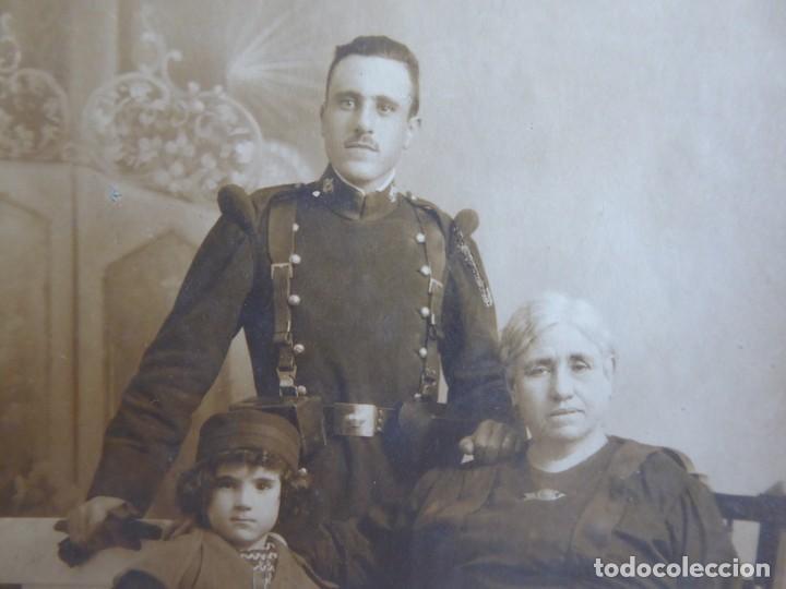 FOTOGRAFÍA SOLDADO DEL EJÉRCITO ESPAÑOL. REGIMIENTO INMEMORIAL DEL REY (Militar - Fotografía Militar - Otros)