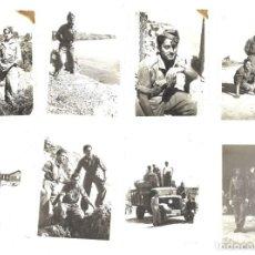 Militaria: LOTE 8 FOTOGRAFÍAS DE SOLDADOS ESPAÑOLES. Lote 131603834