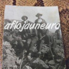 Militaria: UNICA FOTOGRAFIA MILITAR ESPAÑA EPOCA ALFONSO XIII. Lote 131650542