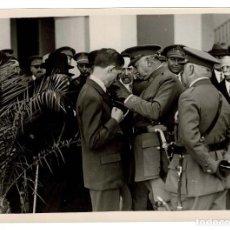 Militaria: FOTOGRAFÍA GENERAL MIGUEL PRIMO DE RIVERA. ARANSAY - LOGROÑO - 18 X 13 CM. Lote 131792722