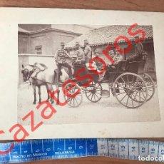 Militaria: FOTOGRAFIA MILITAR SIGLO XIX- CABALLERIA DRAGONES DE NUMANCIA- ALBUMINA - ALFONSO XIII. Lote 132184102