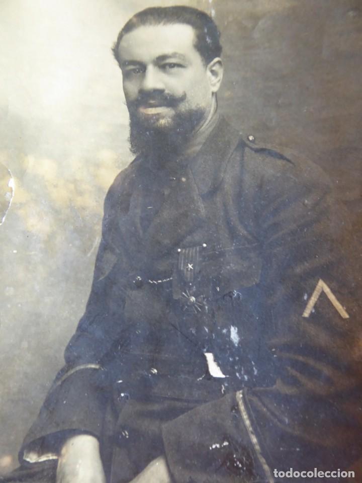 FOTOGRAFÍA SOLDADO DEL EJÉRCITO BELGA. CROIX DE GUERRE (Militar - Fotografía Militar - I Guerra Mundial)
