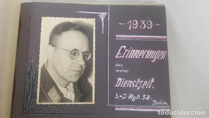 Militaria: Álbum de Fotos de un soldado Alemán de la Luftwaffe Segunda Guerra Mundial 154 Fotografias - Foto 5 - 132486574