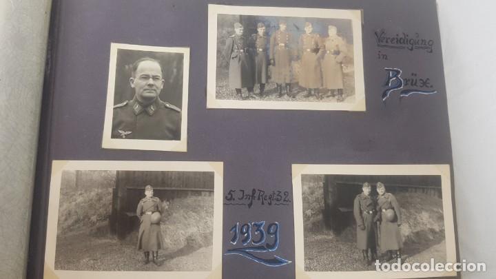 Militaria: Álbum de Fotos de un soldado Alemán de la Luftwaffe Segunda Guerra Mundial 154 Fotografias - Foto 7 - 132486574