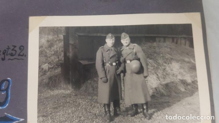 Militaria: Álbum de Fotos de un soldado Alemán de la Luftwaffe Segunda Guerra Mundial 154 Fotografias - Foto 8 - 132486574