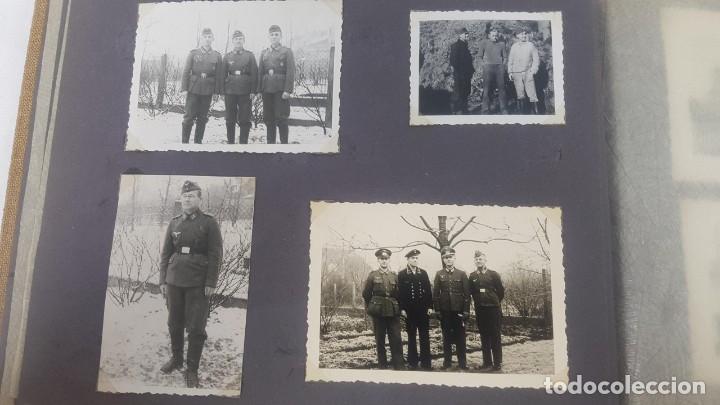 Militaria: Álbum de Fotos de un soldado Alemán de la Luftwaffe Segunda Guerra Mundial 154 Fotografias - Foto 9 - 132486574