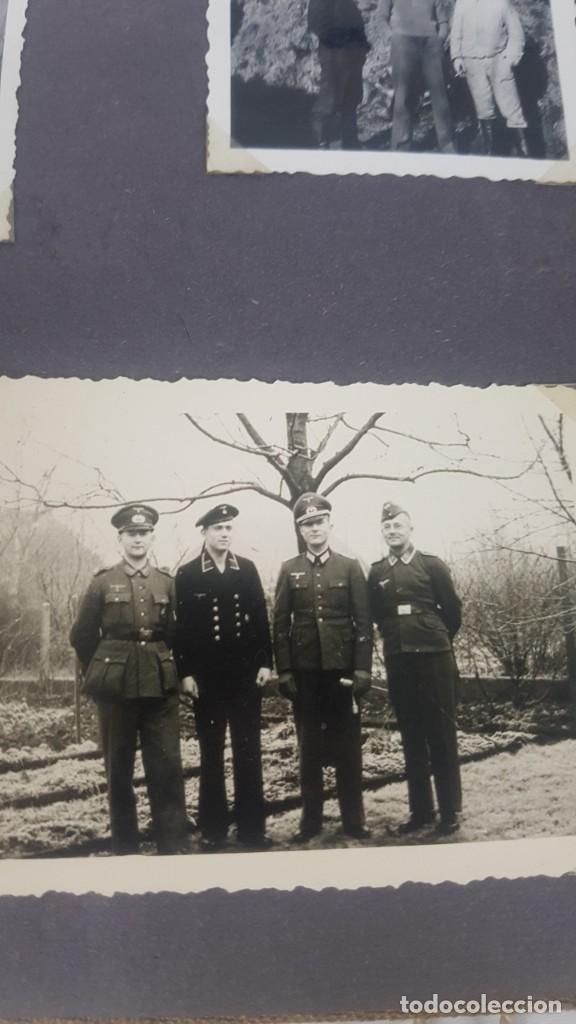 Militaria: Álbum de Fotos de un soldado Alemán de la Luftwaffe Segunda Guerra Mundial 154 Fotografias - Foto 10 - 132486574