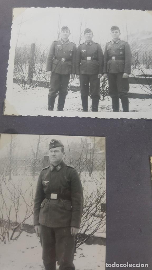 Militaria: Álbum de Fotos de un soldado Alemán de la Luftwaffe Segunda Guerra Mundial 154 Fotografias - Foto 11 - 132486574