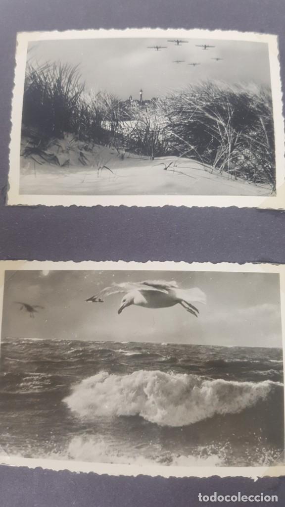 Militaria: Álbum de Fotos de un soldado Alemán de la Luftwaffe Segunda Guerra Mundial 154 Fotografias - Foto 25 - 132486574
