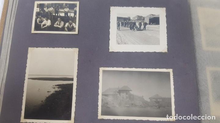 Militaria: Álbum de Fotos de un soldado Alemán de la Luftwaffe Segunda Guerra Mundial 154 Fotografias - Foto 29 - 132486574