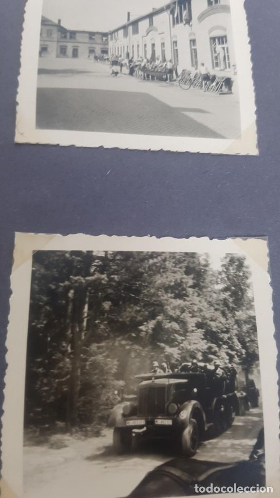 Militaria: Álbum de Fotos de un soldado Alemán de la Luftwaffe Segunda Guerra Mundial 154 Fotografias - Foto 32 - 132486574