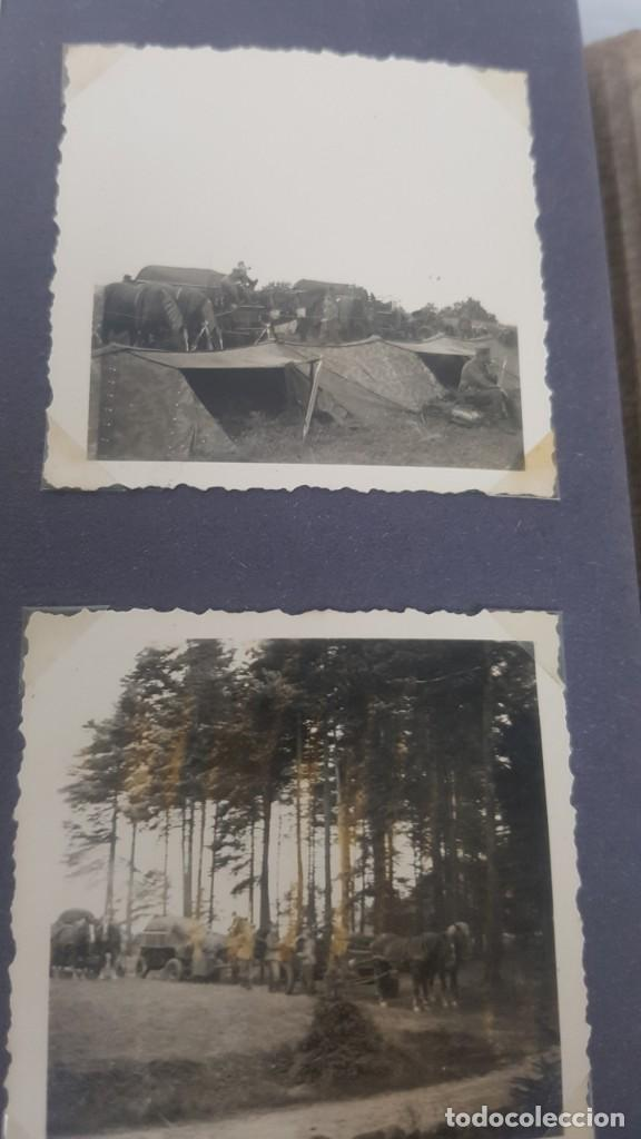 Militaria: Álbum de Fotos de un soldado Alemán de la Luftwaffe Segunda Guerra Mundial 154 Fotografias - Foto 40 - 132486574