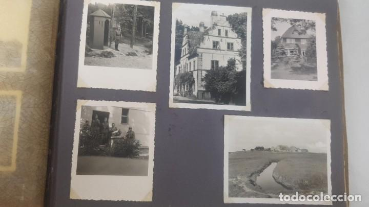 Militaria: Álbum de Fotos de un soldado Alemán de la Luftwaffe Segunda Guerra Mundial 154 Fotografias - Foto 41 - 132486574