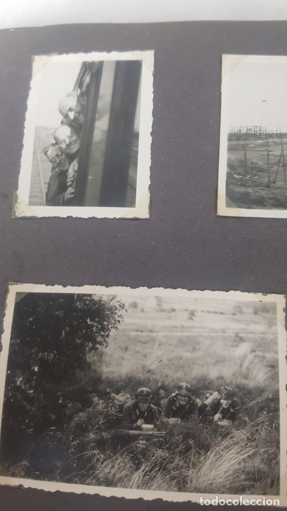 Militaria: Álbum de Fotos de un soldado Alemán de la Luftwaffe Segunda Guerra Mundial 154 Fotografias - Foto 43 - 132486574