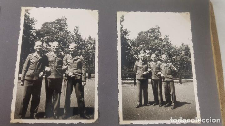 Militaria: Álbum de Fotos de un soldado Alemán de la Luftwaffe Segunda Guerra Mundial 154 Fotografias - Foto 45 - 132486574