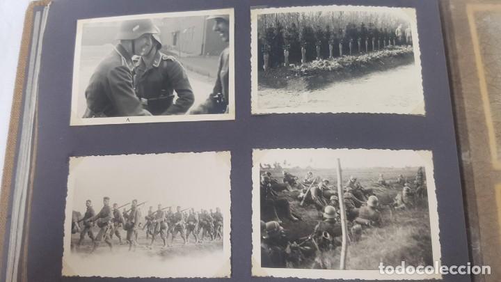 Militaria: Álbum de Fotos de un soldado Alemán de la Luftwaffe Segunda Guerra Mundial 154 Fotografias - Foto 46 - 132486574