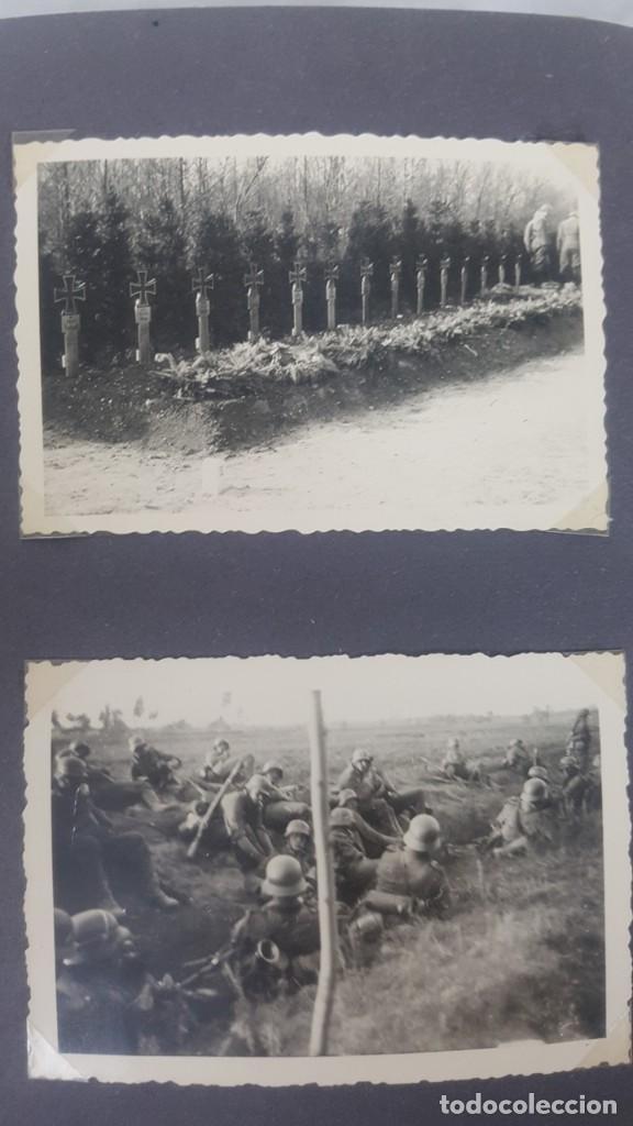 Militaria: Álbum de Fotos de un soldado Alemán de la Luftwaffe Segunda Guerra Mundial 154 Fotografias - Foto 47 - 132486574