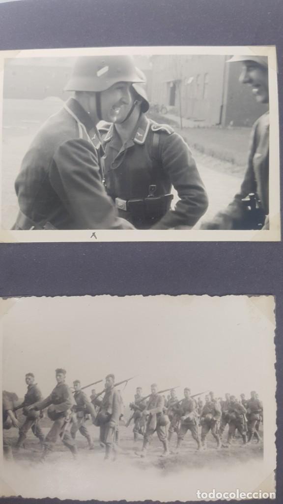 Militaria: Álbum de Fotos de un soldado Alemán de la Luftwaffe Segunda Guerra Mundial 154 Fotografias - Foto 48 - 132486574