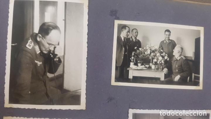 Militaria: Álbum de Fotos de un soldado Alemán de la Luftwaffe Segunda Guerra Mundial 154 Fotografias - Foto 50 - 132486574